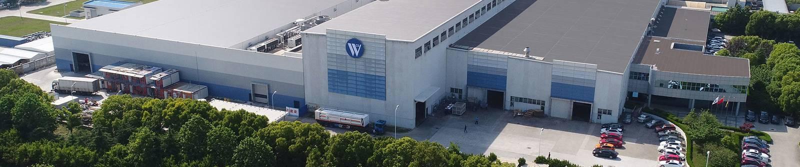 Stahlproduktion-Standort in Taicang (China) von Waelzholz Luftbild