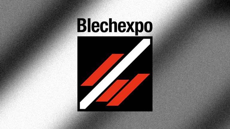 Logo of Blechexpo 2019 Teaser graphic