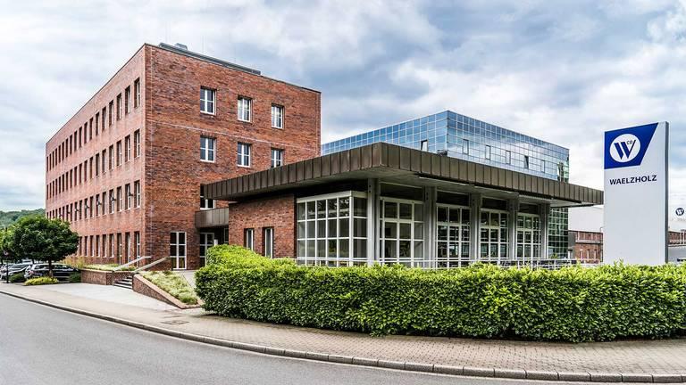 Exterior view of the Waelzholz headquarters in Hagen Teaser graphic