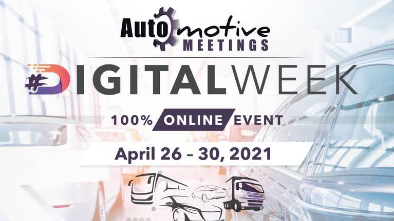 Automotive Meetings Digitalweek 2021 Logotipo de la campaña