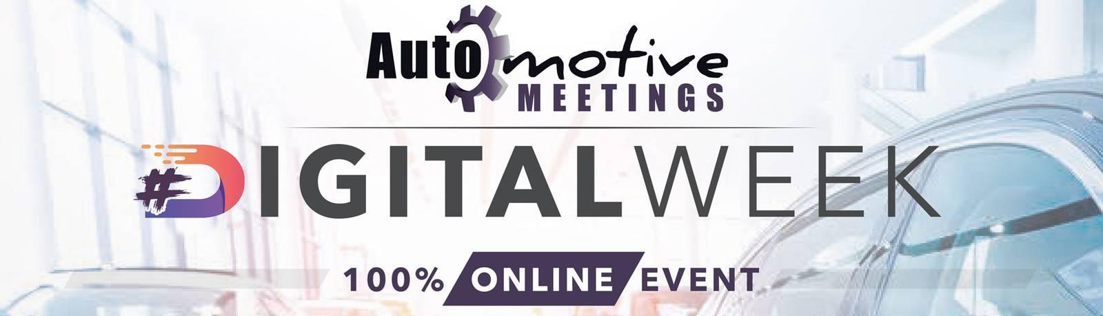Aplicación de automoción en los Digitalen Automotive Meetings 2021 Cabecera del logotipo de la feria