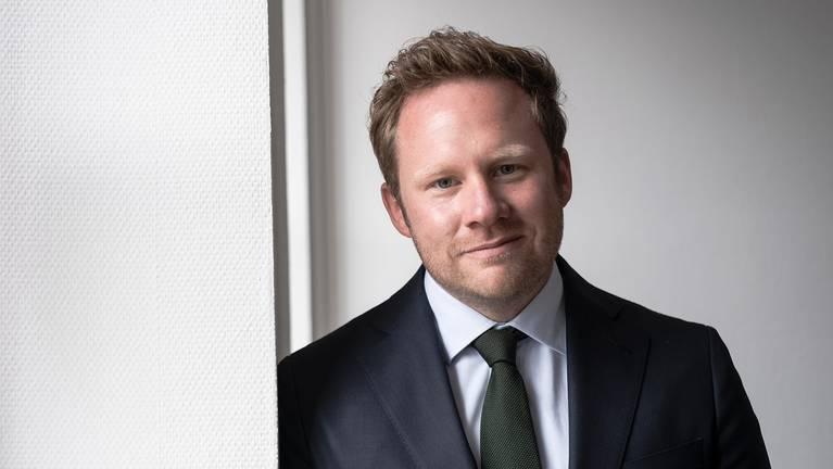Henrik Caspar Junius Managing Director of the Waelzholz Group Portrait photo